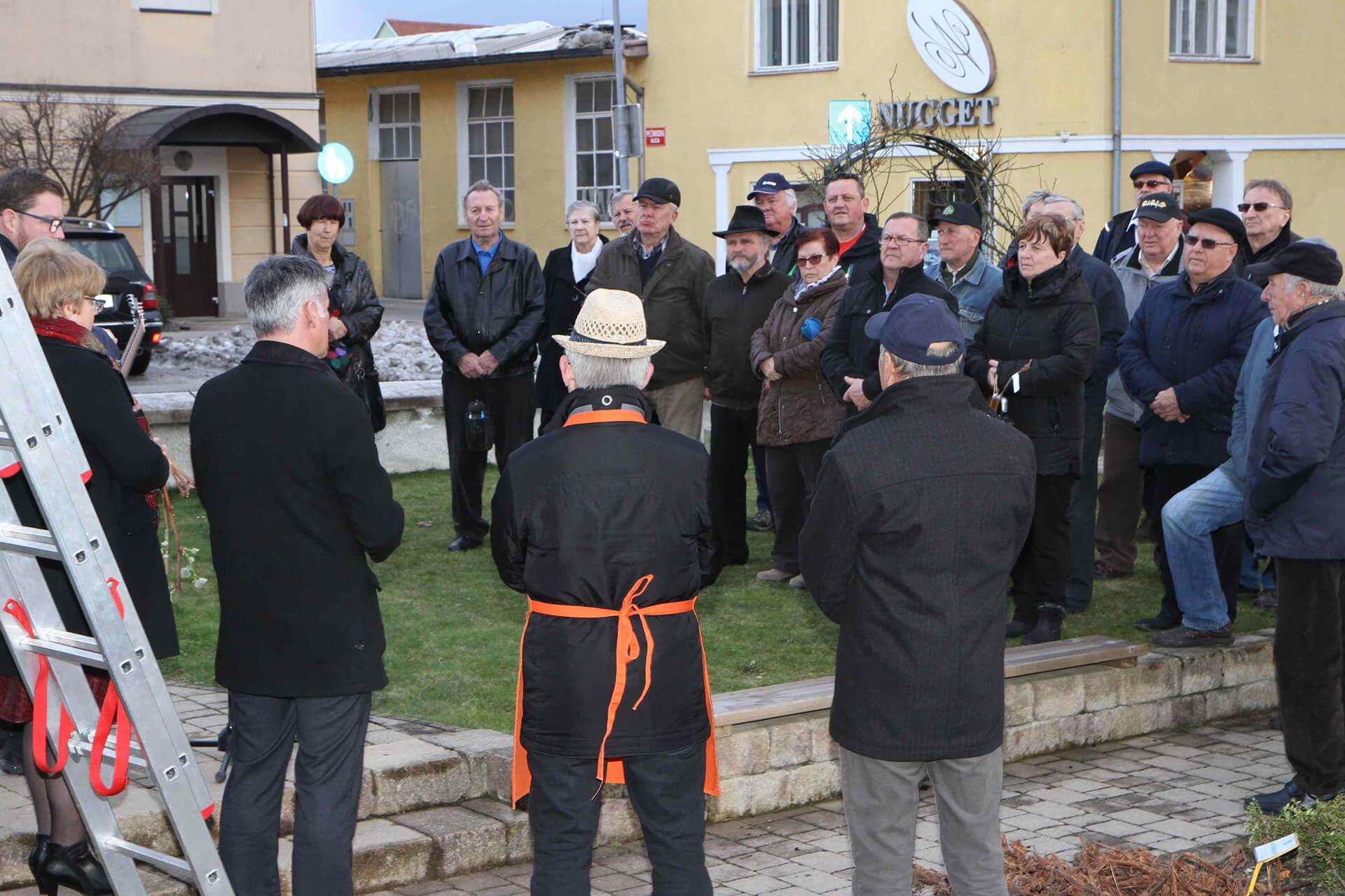 Rez trte Nikolaje in občni zbor društva 2018