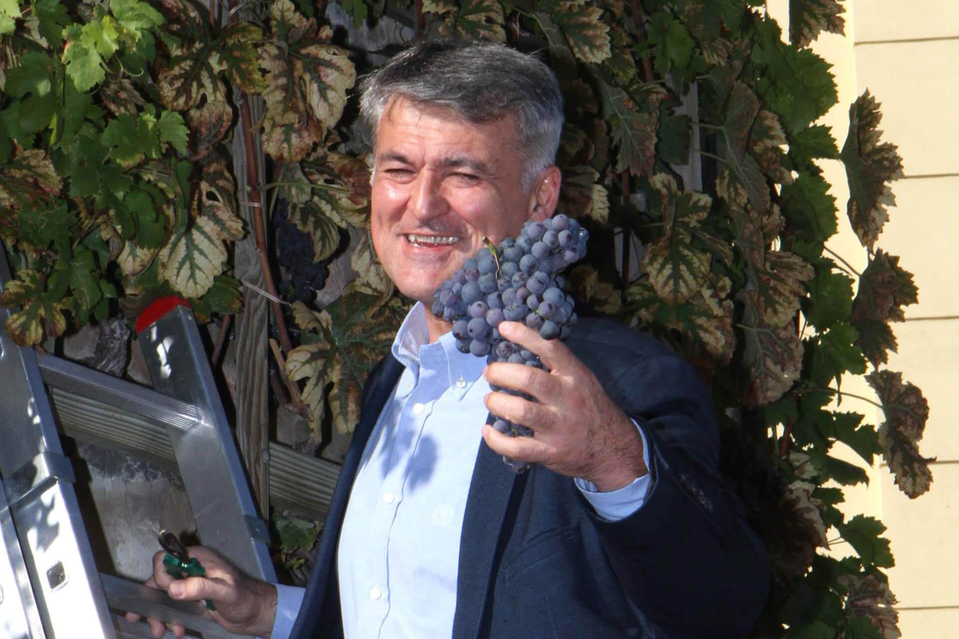 Trgatev Nikolaje 2018 - Župan